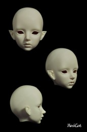 【Maskcat】1/3 Doll Nude Heads
