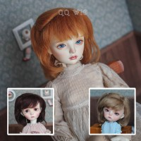QQ-59 *snoky*  Mohair Wig